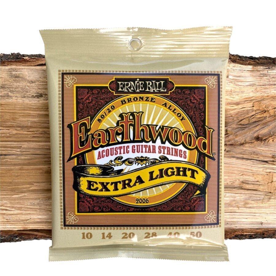 Ernie Ball Earthwood 80/20 Bronze Extra Light
