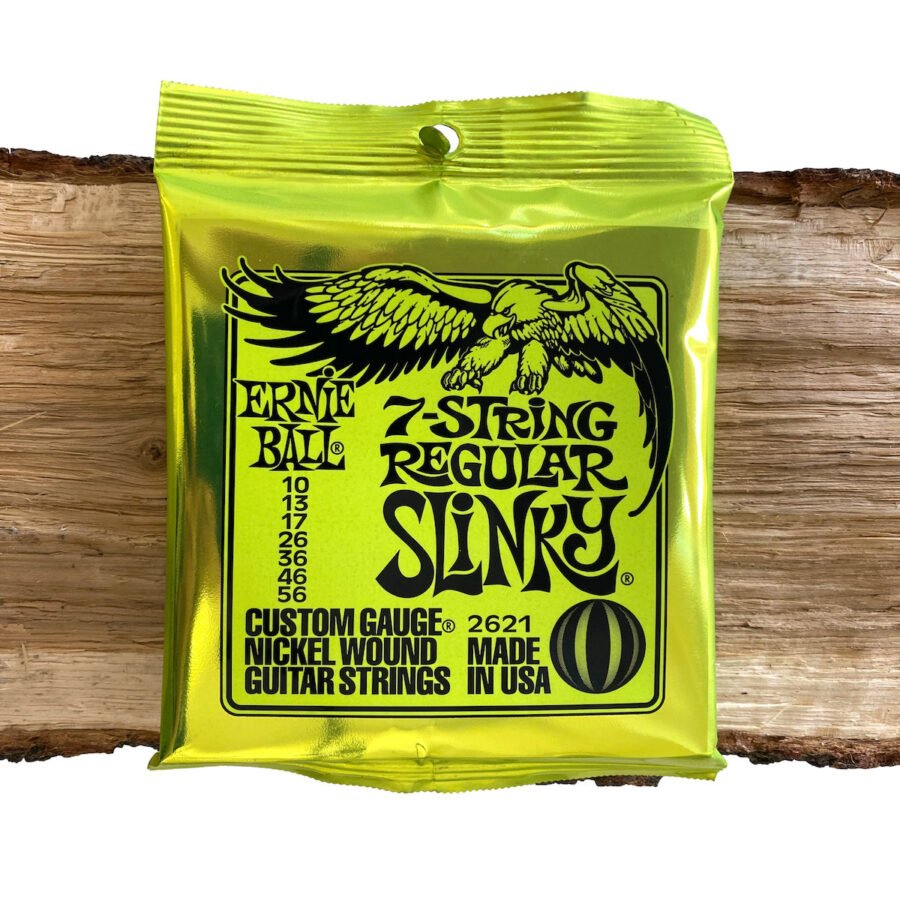 Ernie Ball 7 String Regular Slinky EB2621