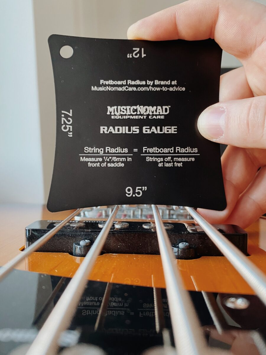 Music Nomad Precision Radius Gauge Set MN603