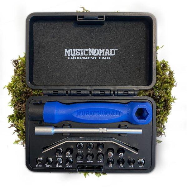 MN229 MusicNomad Premium 26 PC. Guitar Tech Screwdriver & Wrench Set