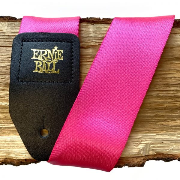 pasek gitarowy neon pink EB5321